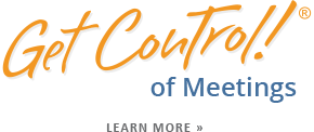 Get Control of Meetings Effective Meeting Training & Courses
