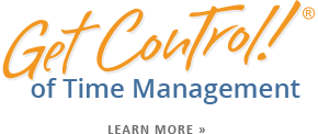 Get Control of Time Management Classes, Training & Strategies