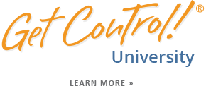 Get Control University E-Learning, Webinars & Micro-Video Modules