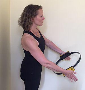 Jessica Schultz Power Circle Exercise