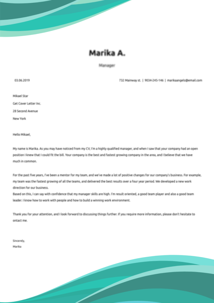 Lab Technician Cover Letter Example Writing Tips Free 2021