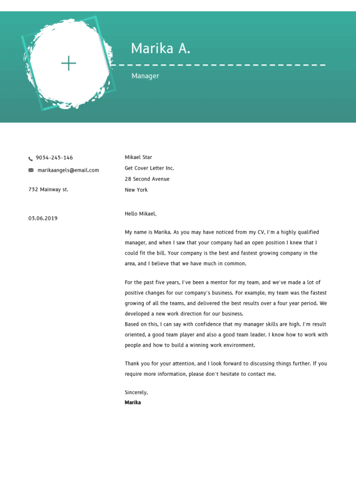 Executive Director Cover Letter Example Writing Tips Free 2021