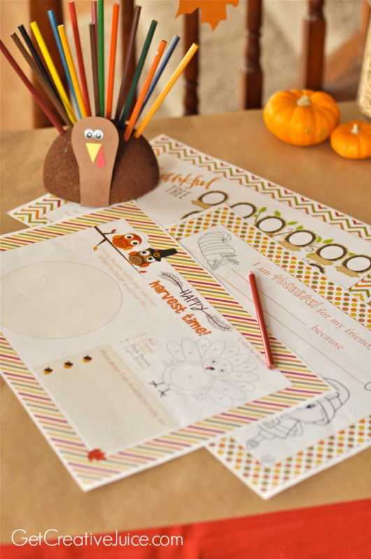 Thanksgiving Table Mats