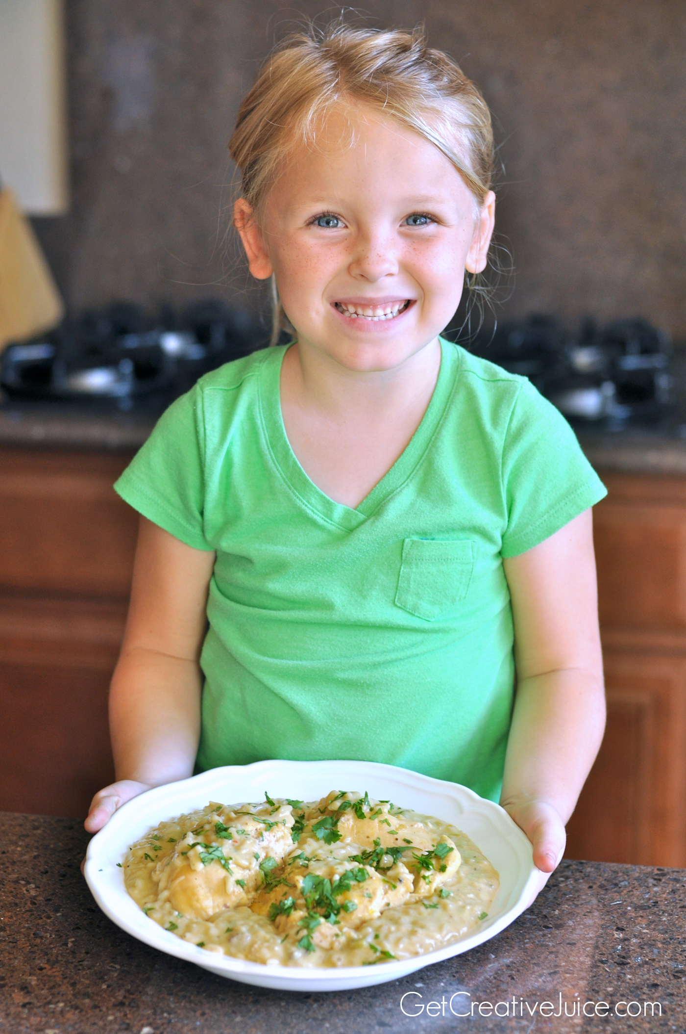 Cooking With Kids Easy Creamy Crockpot Chicken And Rice