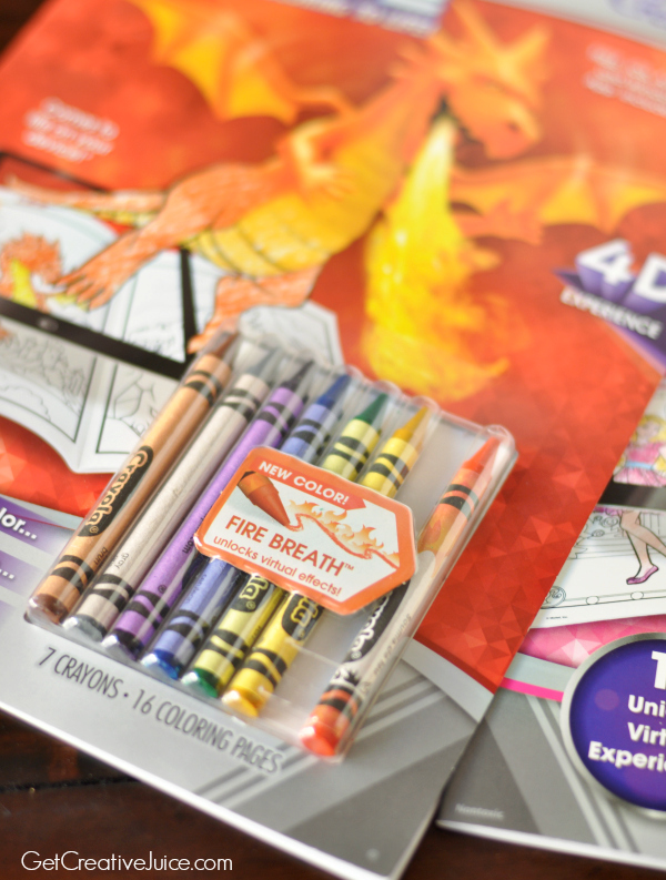 bring your coloring to life with crayola color alive creative juice