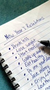 New Year's resolutions. Are they a waste of time?