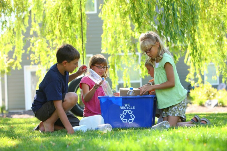 """Waste Not, Want Not: """"Easy Tips for Anyone to Go Green Now"""""""