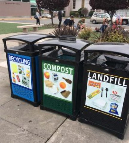 recycling and composting are an important step to go green