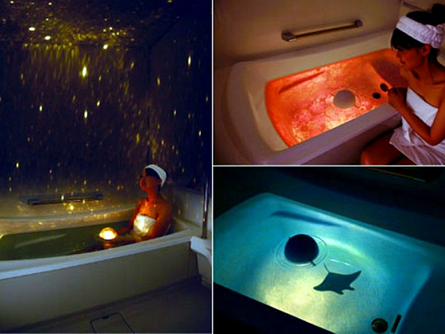 Homestar Spa Night Sky Floating Projector