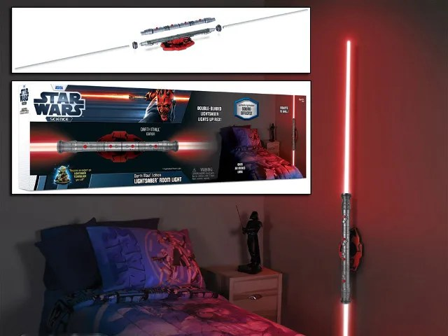 Star Wars Darth Maul Lightsaber Room Light