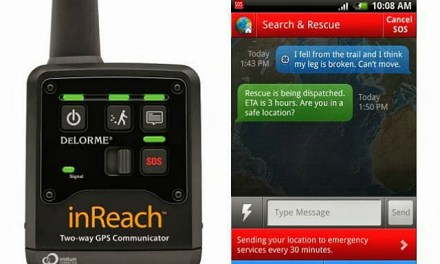 DeLorme inReach Two-Way Satellite Communicator for Smartphones