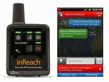 DeLorme inReach Two-Way Satellite Communicator