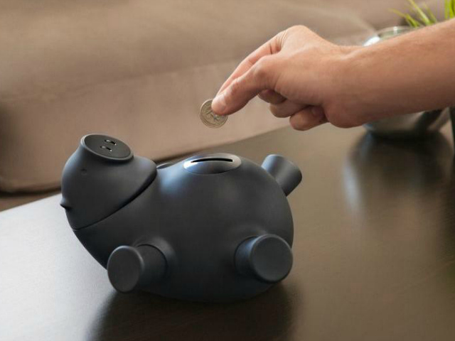 Quirky Porkfolio Smart Piggy Bank