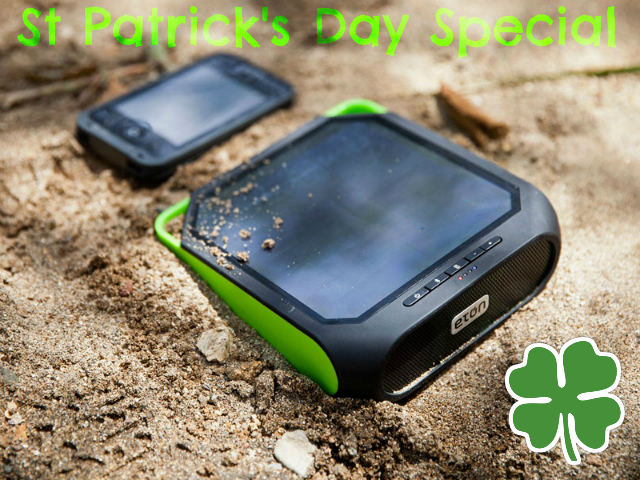 St Patrick's Day Special: Eton Rugged Rukus Speaker