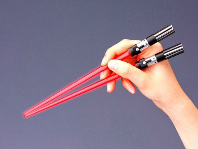 Star Wars LIGHT UP Chop Sabers