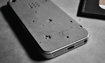 Luna Concrete iPhone 5/5s Skin by Posh Craft