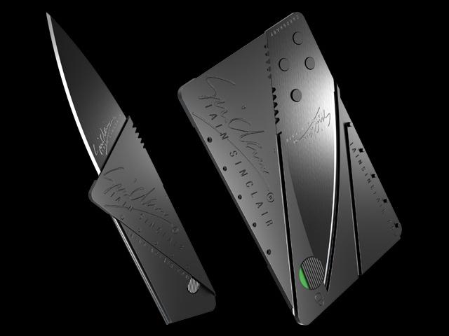 Iain Sinclair Cardsharp2 Folding Knife