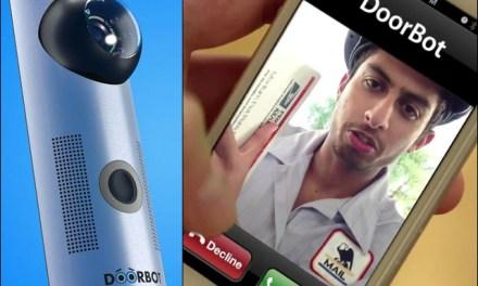 DoorBot Answers Your Door When You're Away