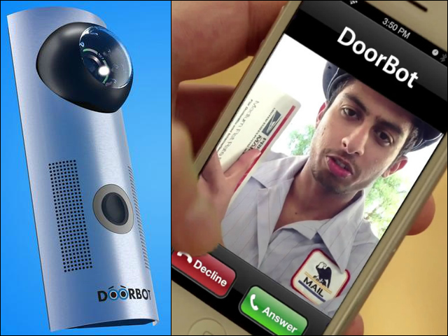 DoorBot Answers Your Door When You're Away