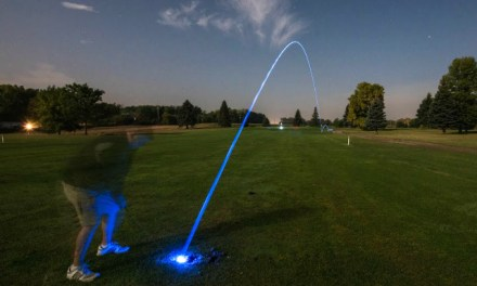 Motion Activated LED Golf Balls. Night Golf, Anyone?
