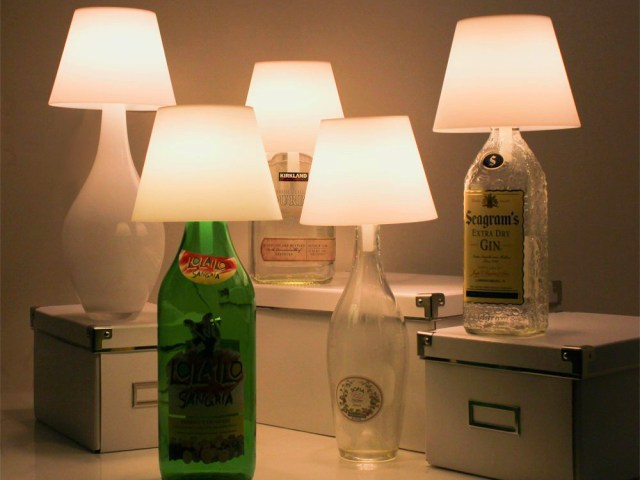 Satechi Touch Turns Any Bottle into a Lamp