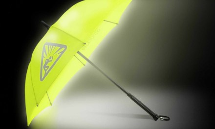 StrideLite Safe Walking Umbrella