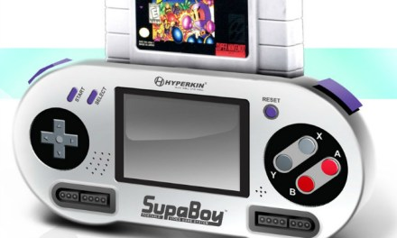 SupaBoy Portable Pocket SNES Console