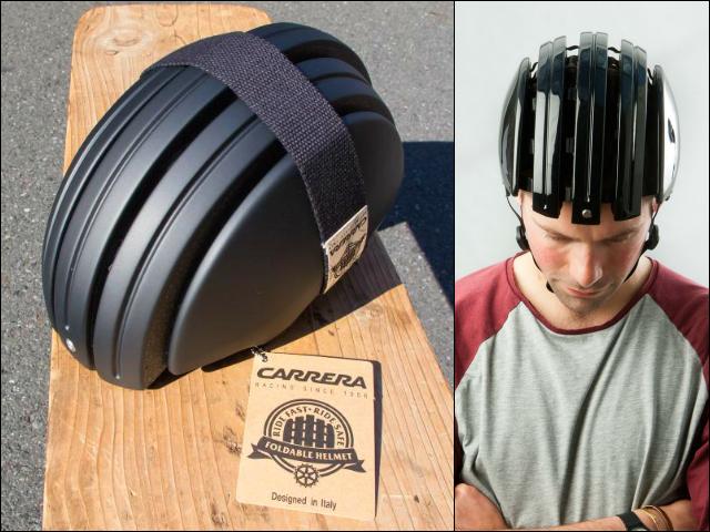 Carrera Foldable Helmet – Fold It When Not Needed
