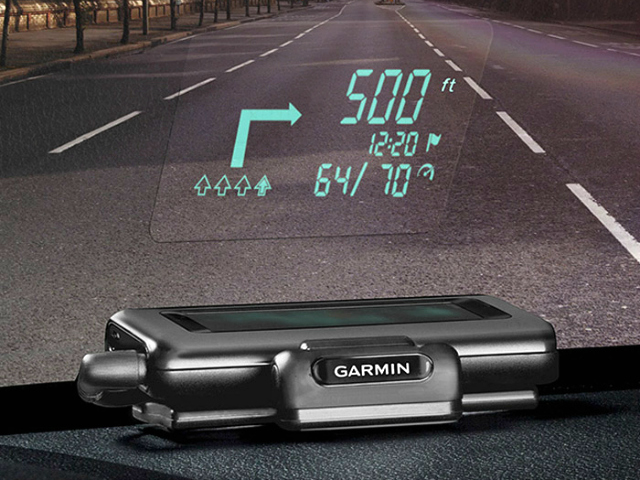 Garmin Head-Up Display Makes Your Car Feel Like a Jet