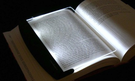 LightWedge LED Book Light Lights the Page, Not the Room