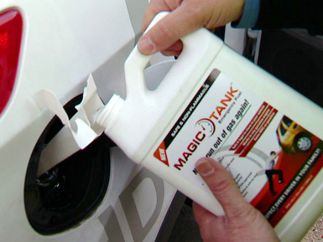 Magic Tank Emergency Fuel – Spare Tire for Your Fuel Tank