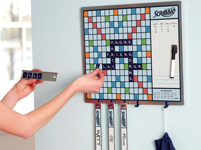 Scrabble Game Plus Message Board