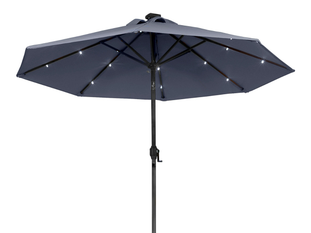 Sunergy Solar Powered Patio Umbrella – Useful Day and Night