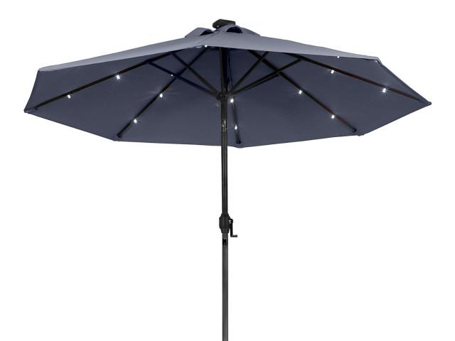 Sunergy Solar Powered Patio Umbrella – Useful Day and Night