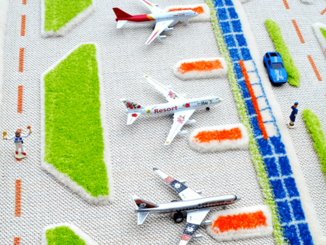 3D Play Carpet
