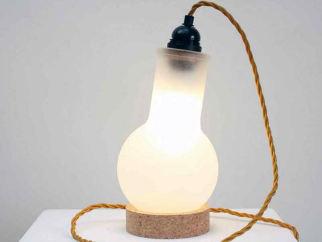 Duffy Lab Flask Lamp