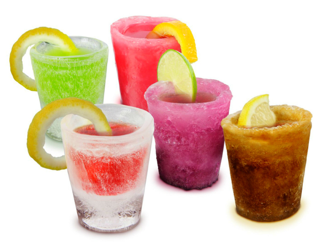 Serve the Coolest Shots with Ice Shot Glasses Mold