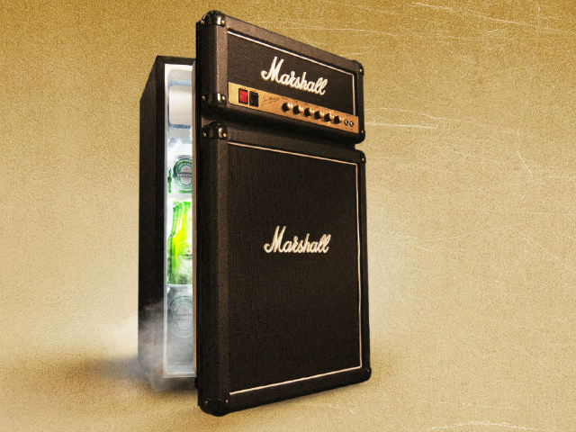 Marshall Fridge – Cooling That Goes up to 11