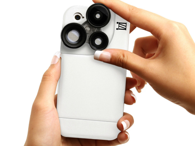 iZZi Slim iPhone Case with 4-in-1 Lens Solution