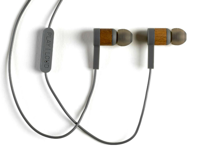 IEHP Wooden In-Ear Headphones