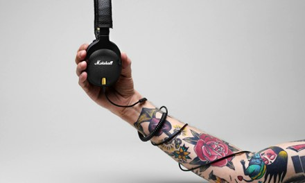 Marshall Monitor Over-The-Ear Headphones is Like Strapping Hi-Fi to your Ears