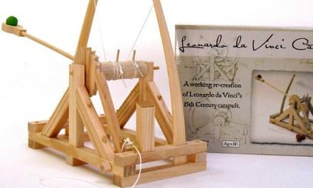 Leonardo Da Vinci Catapult Model Kit