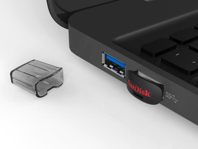 SanDisk 64GB Ultra Fit Series USB 3.0 Flash Drive