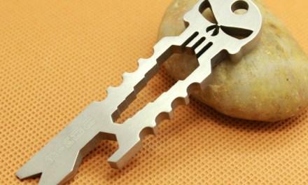 Ti Titanium Keychain Pocket Survival Tool