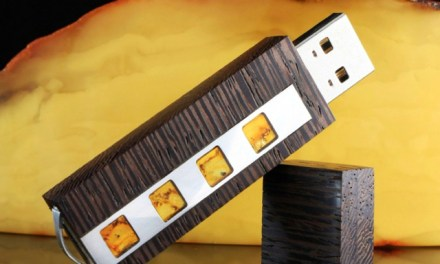 VIP Amber Wenge USB 3.0 Flash Drive