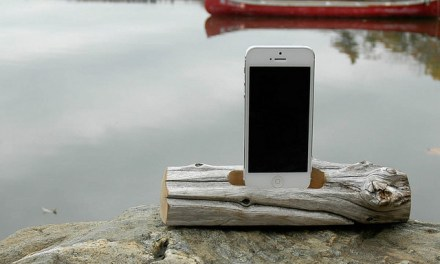 Driftwood Docking Station for iPhone 5