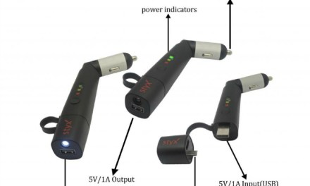 Styx Car Charger Plus Power Bank