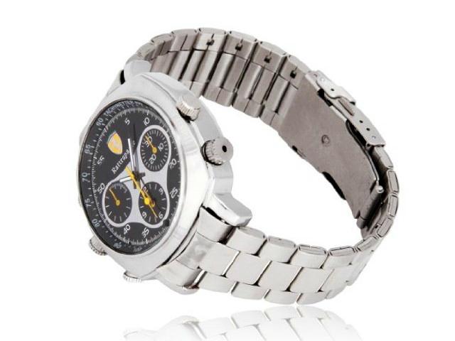 Waterproof Spy Watch with 720p Camera
