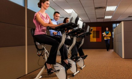 Exercise Convenience Guaranteed with the FitDesk v2.0 Desk Exercise Bike