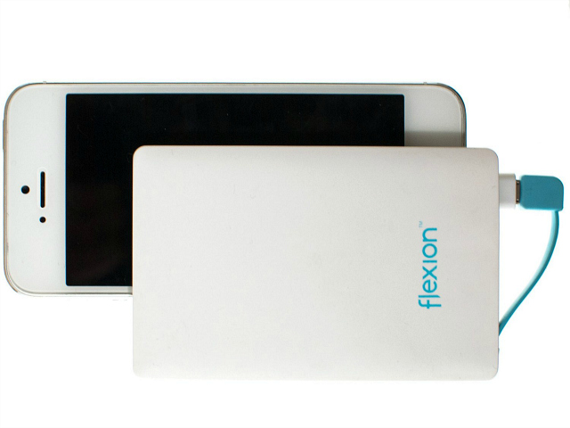 Bank Up Your Power Reserves with the Flexion 2500 mAh Portable Power Bank Card
